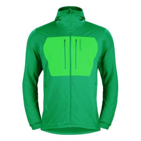 lyngen-powerstretch-pro-hoodie-m-chrome-green