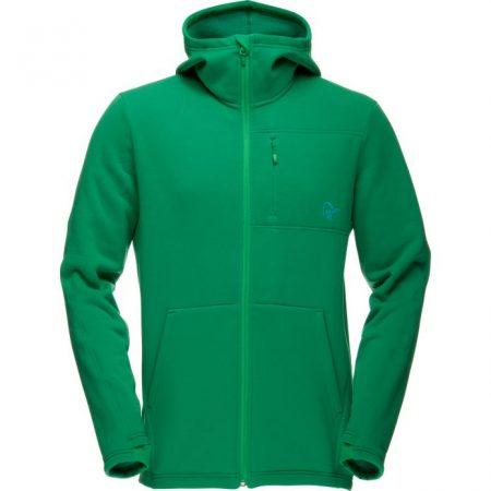 narvik-warm2-stretch-zip-hood-m-chrome-green