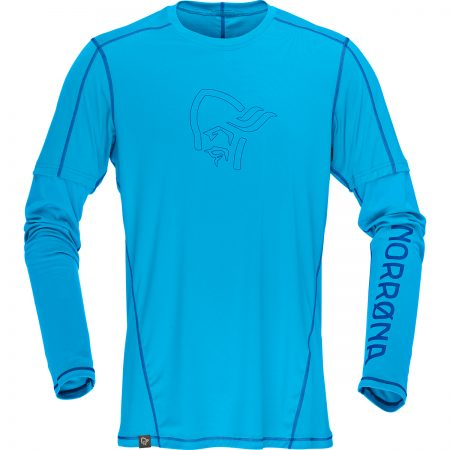 :29 tech long sleeve Shirt (M) blue