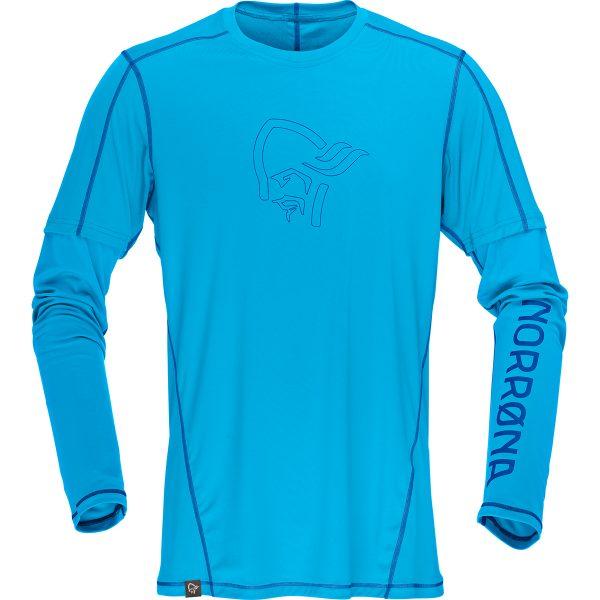 :29 tech long sleeve Shirt (M) blue