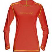 :29 tech long sleeve Shirt (W) hot chili