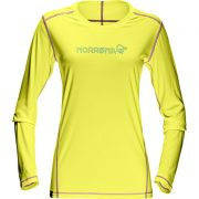 :29 tech long sleeve Shirt (W) sulphur