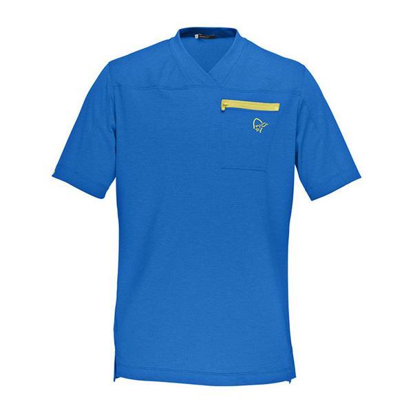 fjørå equaliser lightweight T-Shirt (M)_electric blue
