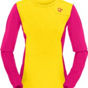 fjørå equaliser lightweight long sleeve (W) mellow yellow