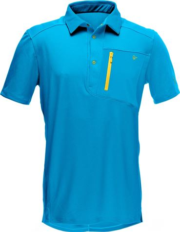 fjørå equaliser polo Shirt (M) carri blue